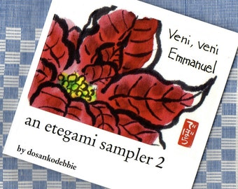 An Etegami Sampler 2 - art book, (Japanese folk art, gift, inspirational, scripture)