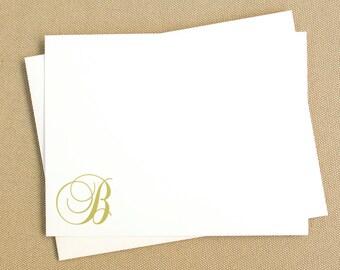 Monogrammed Notecard Set / Bridesmaid Stationery Gift Set / Personalized Stationary / Stationery Gift Set
