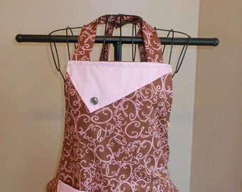 Chocolate Swirls Apron