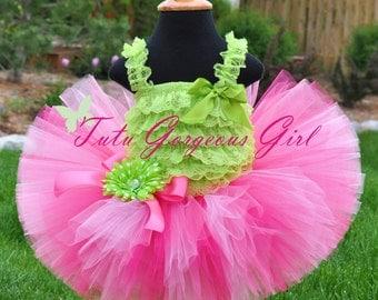 Bubblegum Pink Birthday Tutu...Pink Princess Birthday Tutu, Pink Newborn Tutu...Newborn to Adult Tutu Sizes . . . PRETTY IN PINK