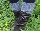 Hand knit Boot Sleeve