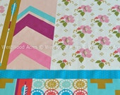 Patchwork in Pink from Ruby Star Polka Dot by Melody Miller by the HALF YARD