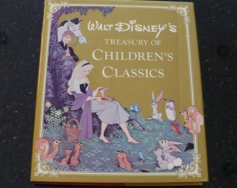 Walt Disney's Treasury of .Children's Classics, 1978, Books, Children's Books, Books Movies Music, Story Books, Vintage Children's Books,