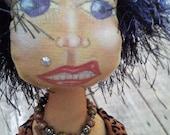 Roxy Rolls Artistic OOAK Doll