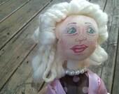 Mary Elderly 50's Artistic OOAK Doll