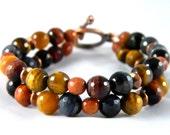 Goldstone & Jewel Tone Alyson Bracelet