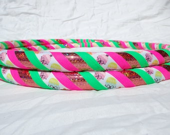 NEW: Cupcake Boutique Custom Hula Hoop - Collapsible or Standard - ANY Size Hoola Hoop