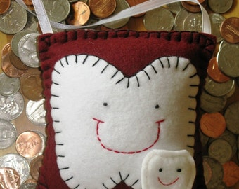 Cranberry Tooth Fairy Pillow