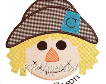 Scarecrow Boy Applique Design