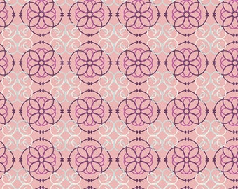 Mosaic Rose (BA-410) - BAZAAR STYLE - Patricia Bravo for Art Gallery Fabrics - By the Yard