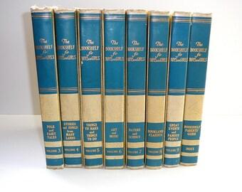 The Bookshelf for Boys and Girls Vintage Children's Books