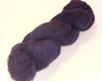 Laceweight BFL Blue Faced Leicester - Into Darkness