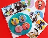Buttons & Sticker Pack