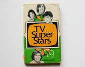 Vintage 1979 TV Super Stars Paperback Book - John Travolta, Kristy McNichol, Mackenzie Phillips, David Soul, Sha Na Na & More