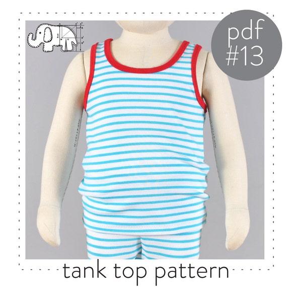 free tank top pattern pdf