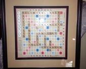 Personalized Scrabble Picture