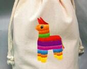 8x12 Drawstring Bags- Wedding Favor-Party Favor - Pick SIze - Muslin Bag - Pinatas - Customize