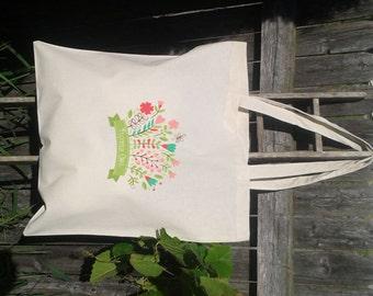 Flower Girl Tote Bag, Wedding Welcome Tote Bag, Wedding Faovr Bags