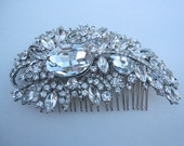 Wedding Hair comb Rhinestone Bridal hair comb vintage Wedding hair accessory Bridal hair piece Wedding headpiece Bridal haircomb Wedding