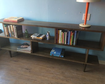 Oxelaand Multilevel Bookcase - Long