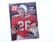Steve Martin: A Wild and Crazy Guy special, Chicago Tribune TV Week newspaper magazine, vintage 1978 television guide, red, football, comedy