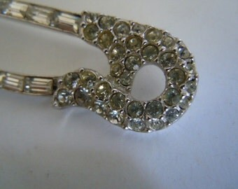 Safety Pins Bling Jewelry