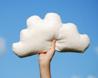 Organic Baby - Cloud Pillow - Organic Cotton - Eco Friendly - Natural Color - Childrens Decor - Nursery