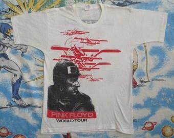 PINK FLOYD original vintage 1987 tour TSHIRT