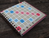 Upcycled Scrabble Notebook