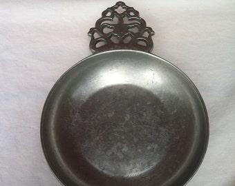 Vintage Silver Tray Platter Serving Dish