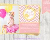 Sunshine and Lemonade  - A Photo Thank You Card
