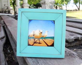 4x4 Haven picture frame - Turquoise