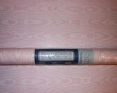 SALE - 2 Full Double Rolls of Pretty Pink Wallpaper w/Pearly Swirls, NOS.