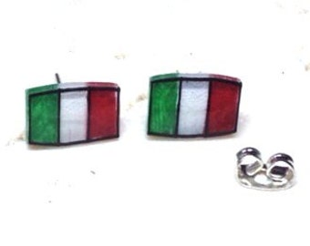 Italy earrings...  Illustrated and Hand-Made by WendyFergusonDesigns