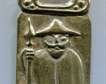 Odin Pendant - Bronze