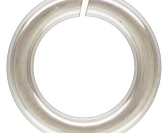 Silver Jump rings Sterling 16gauge 7mm Open Jump Rings - 10pcs 10% discounted (4528)/1