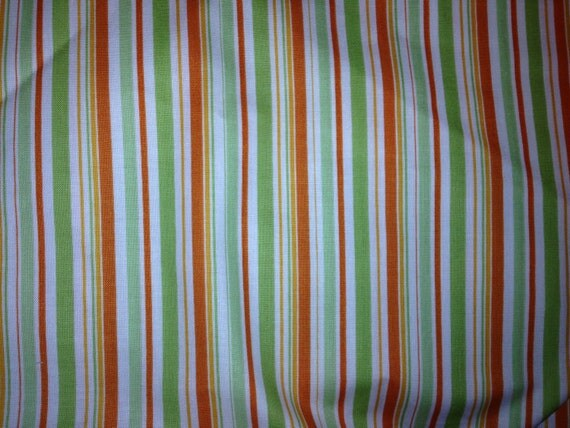Orange Stripe Riley Blake Pieces of Hope  (One Yard Cut)