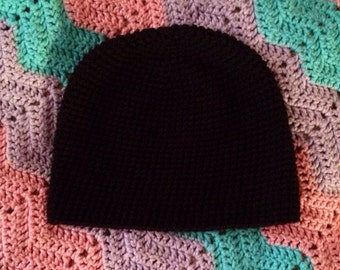 Basic Crochet Beanie Hat