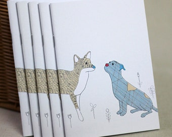 Dog and Fox Notebook