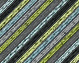 Auto Diagonal Tracks Grey from the Henley Studio Collection by Makower UK