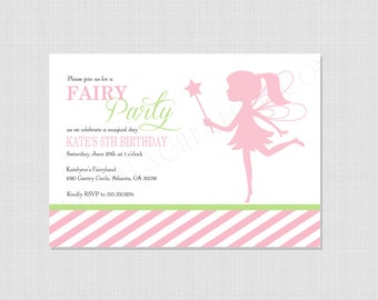 Fairy Collection: Printable Invitation