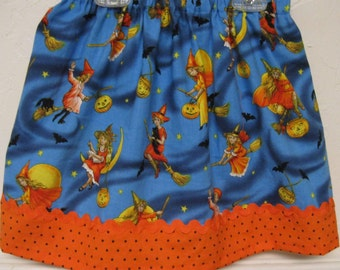 Halloween Skirt  size 2 to 7