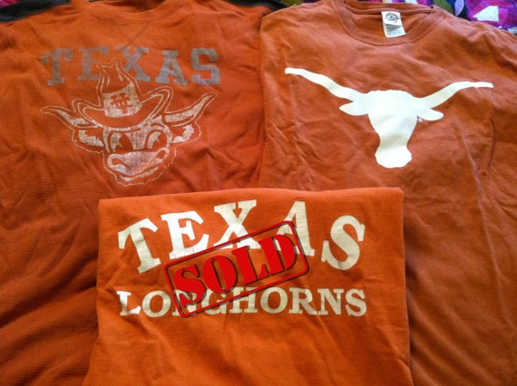 Create your own University of Texas Game Day Dress Upcycled