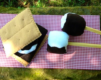 Smore's Play Set-Camping Felt Food