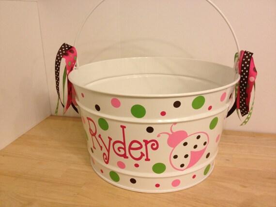 Empty Metal Gift Baskets : Empty ladybug easter baskets wikii
