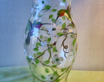 This tall 11inch hurricane glass candle holder would be a delightful wedding centrepiece.