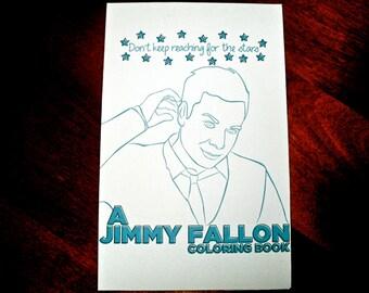 a jimmy fallon coloring book