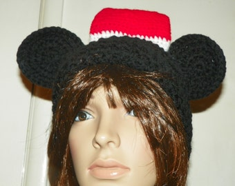 Mickey  Mouse Santa Hat for Toddlers-Adult