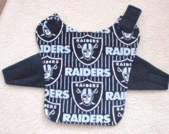 Raiders Fleece Dog Coat