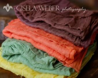 Best Price Cheesecloth, RTS, Newborn Layering SET, Cheesecloth Layer, Cheesecloth Baby Wraps, Baby Wrap, Neutral Photo Prop, Newborn Wraps